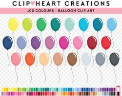 Balloon clipart | Etsy