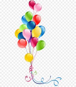 Balloon Clip art - Transparent Bunch Balloons Clipart png download ...