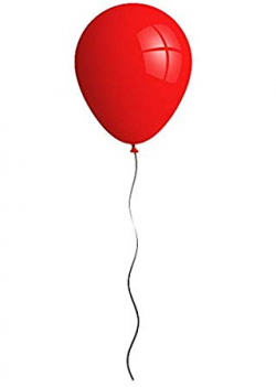 Halloween IT Killer Clown Red Latex Balloon Holder Fancy Dress ...