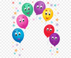 Cartoon Birthday cake Balloon Clip art - Balloons Cartoon Decoration ...