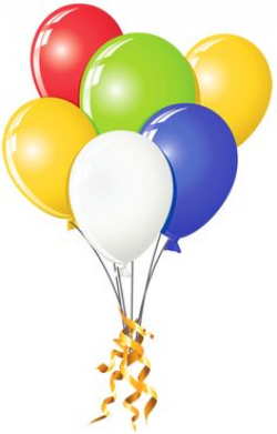 Pink and Yellow Balloons Bunch PNG Clipart Image | ClipArt ...