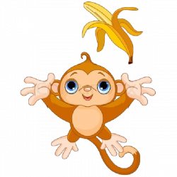 Cute Funny Cartoon Baby Monkey Clip Art Images. All Monkey Cartoon ...