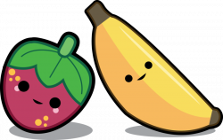 Banana and Strawberry Best Buds by Fai-is-sexy on DeviantArt