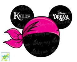 Disney Cruise Mickey Pirate Printable Iron On Transfer or Use as ...