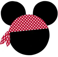 photo bandana.jpg | Disney | Pinterest | Pirate bandana, Mickey ...
