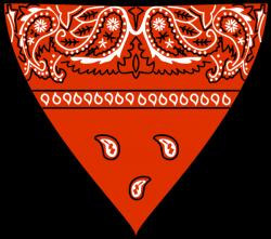 red-bandana-hi.png (600×532) | 1 | Pinterest | Red bandana, Bandanas ...