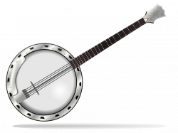 Public Domain Clip Art Image | Banjo | ID: 13955071816912 ...