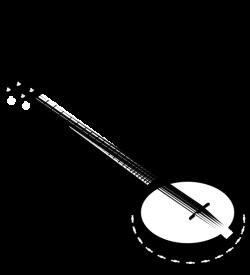 5 String Banjo Clip Art at Clker.com - vector clip art online ...