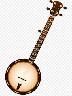 Banjo Bluegrass Musical Instruments String Instruments Clip art ...