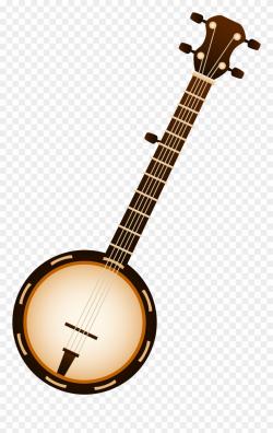 Banjo Cliparts Sweet - Banjo Clipart - Png Download (#8809 ...