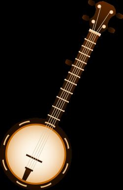 Banjo Musical Instrument - Free Clip Art