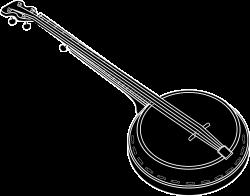 Banjo Drawing Musical Instruments Clip art - instrument 1920*1508 ...