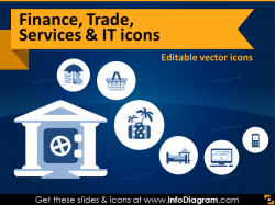 Ultimate 19 Finance, Trade, Services & IT Icons