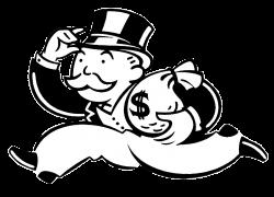 Monopoly Banker transparent PNG - StickPNG