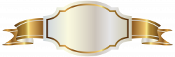 White Label and Gold Banner PNG Clipart Image | Clipart | Pinterest ...