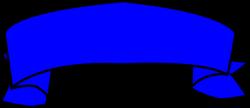 Blue Banner Clip Art at Clker.com - vector clip art online, royalty ...