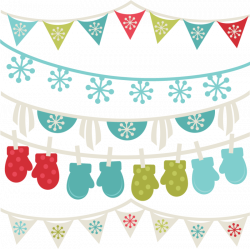 free winter clipart borders winter banners svg winter svg cut files ...