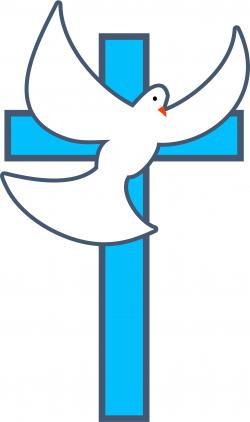 Cross Dove image - vector clip art online, royalty free & public ...