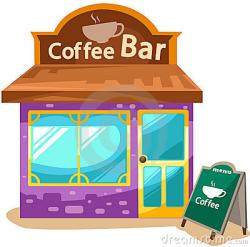 Coffee Bar Clipart