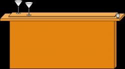 Clipart - Wooden bar