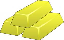 Gold Bar Clipart