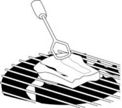 steak on a grill barbecue | Clipart Panda - Free Clipart Images