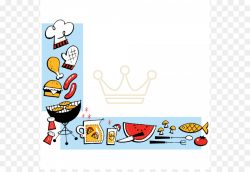Barbecue Picnic Clip art - BBQ Border Cliparts png download - 610 ...