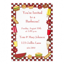 Barbecue Picnic Border Red | Clipart Panda - Free Clipart Images