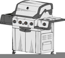 Free Gas Grill Clipart | Free Images at Clker.com - vector clip art ...