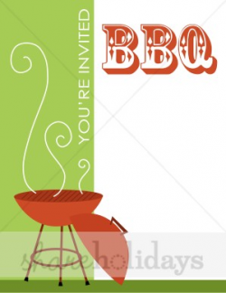 BBQ Party Background | Party Clipart & Backgrounds
