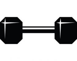 Weight training svg | Etsy