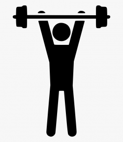 Dumbbell Clipart Weight Room - Transparent Strength Icon Png ...