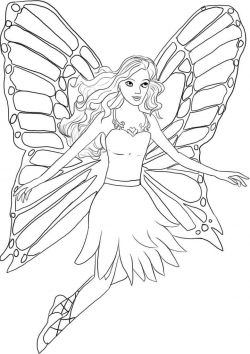 Barbie Coloring Pages Printable# 1951105