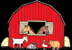 Cartoon Barn Free Clipart