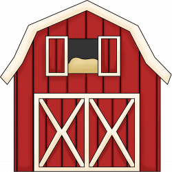Barn clipart red barn - Pencil and in color barn clipart red barn