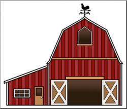 Clip Art: Barn Color 2 I abcteach.com | abcteach