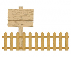 free vector Cartoon clip art fence | Farm ideas | Pinterest | Clip ...
