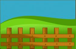 Farm Fence Clip Art at Clker.com - vector clip art online, royalty ...