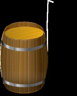 Wooden Barrel Clip Art at Clker.com - vector clip art online ...