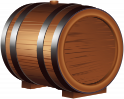 Wooden Barrel PNG Clip Art Image | Gallery Yopriceville - High ...