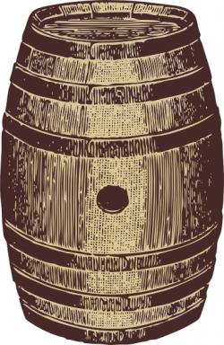 Wooden Barrel clip art Free vector in Open office drawing svg ( .svg ...
