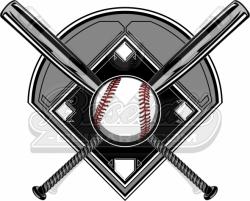 baseball diamond clipart baseball diamond clipart logo baseball bats ...
