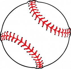 Baseball clipart clear background - Pencil and in color baseball ...