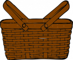 Brown Basket Clipart