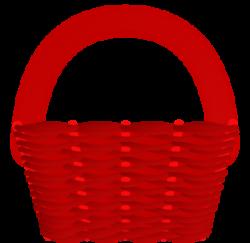 Red Basket Clip Art at Clker.com - vector clip art online, royalty ...