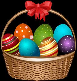Easter Basket Transparent PNG Clip Art Image | Gallery Yopriceville ...