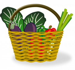 Vegetable Basket Free Clipart