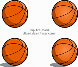 Clip Art Hoard: Simple Basketball Graphic