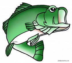Largemouth Bass Clipart