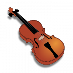 Clipart of Cellos, Violins and Other String Instruments